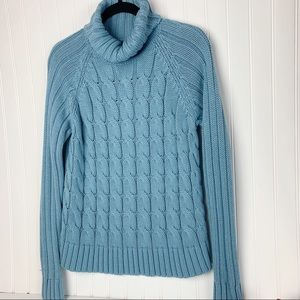 The Limited Cable Knit Turtleneck Sweater NWOT